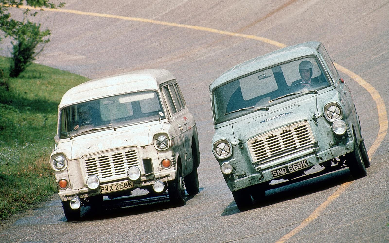 Ford Transit - speed record