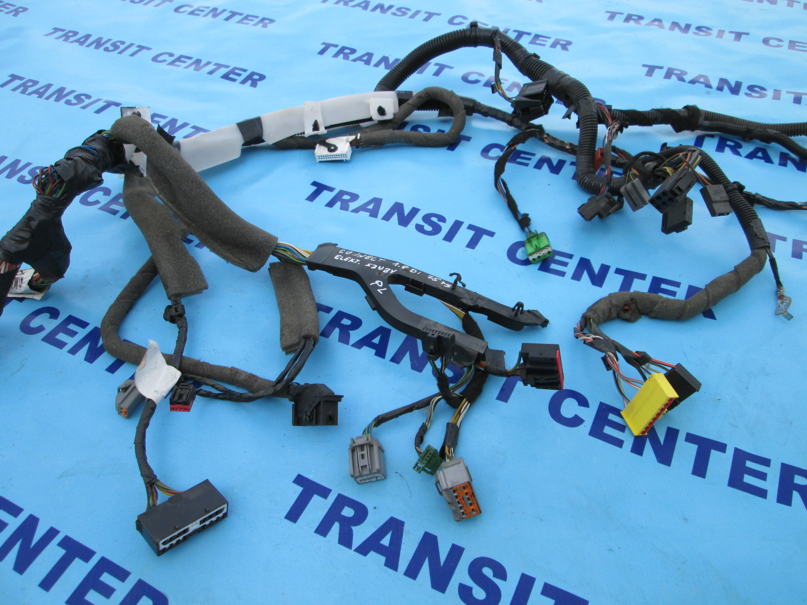 Dashboard Wiring Loom Harness Ford Transit Connect 2002  Lhd  Used