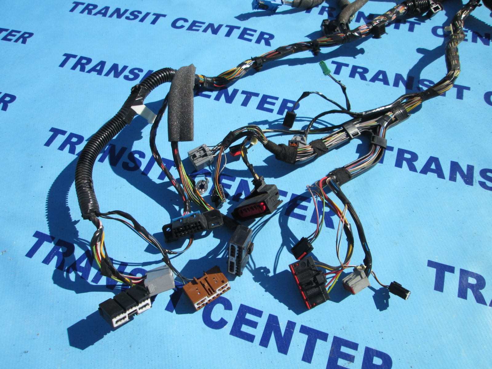 Dashboard Wiring Loom Harness Ford Transit Connect 2009 Rhd Used