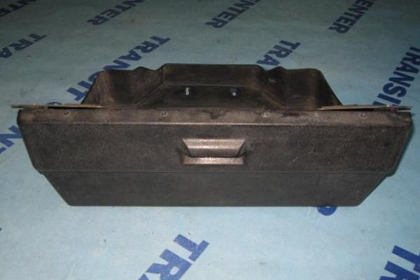 Black glove box compartment Ford Transit 1978-1985 used