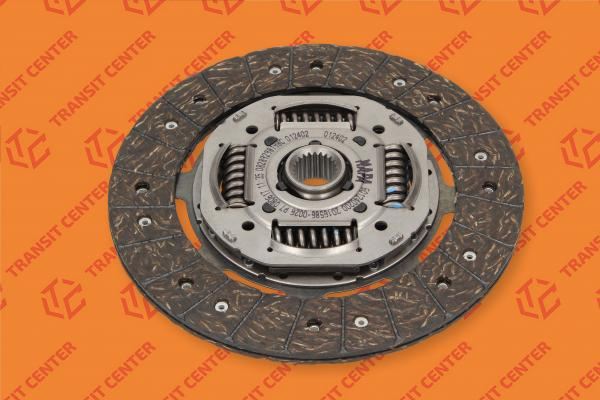 Clutch disc Ford Transit 2.5 diesel 2.0 petrol 1986-2000 new