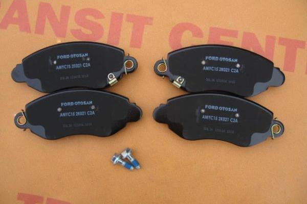 Front brake pads Ford Transit 2000-2006 wheels 16 new