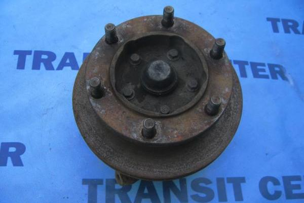"Front left spindle with hub single wheel 15"" transit 1991-2000 used"