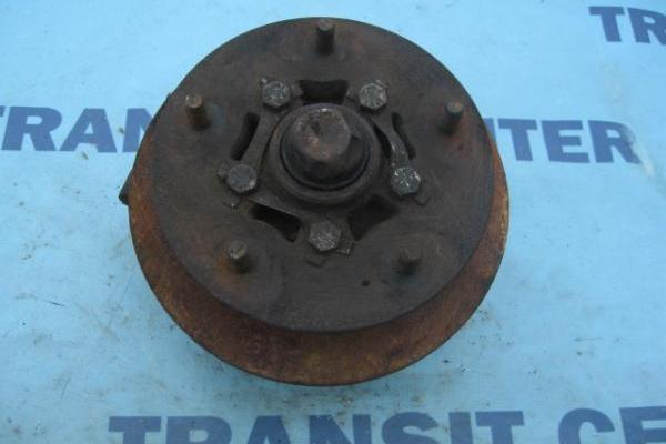"Front left spindle with hub 14"" wheel transit 1986-1991 used"