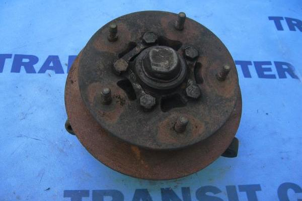 "Front right spindle with hub 14"" wheel transit 1986-1991 used"