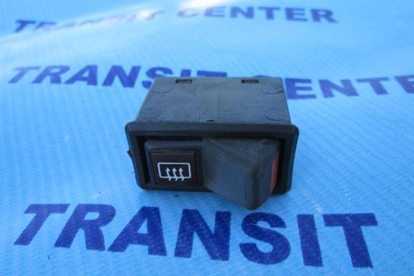 Rear glass heating switch Ford Transit 1984-1985 used