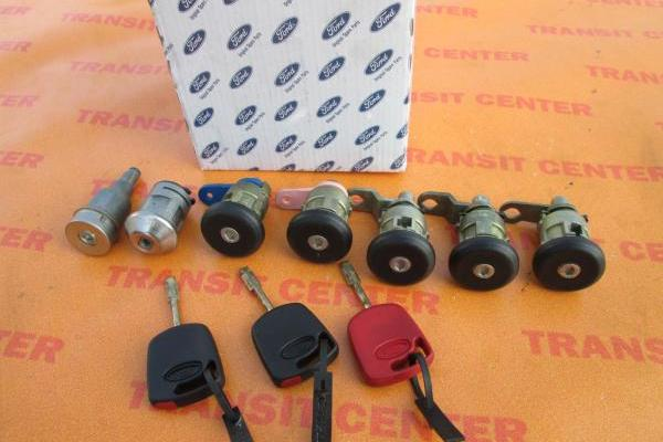 Lock set with keys Ford Transit 1994-2000 new