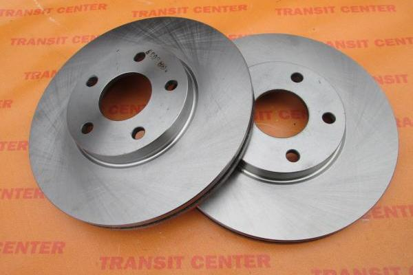 Brake disc Ford Transit Connect, front new