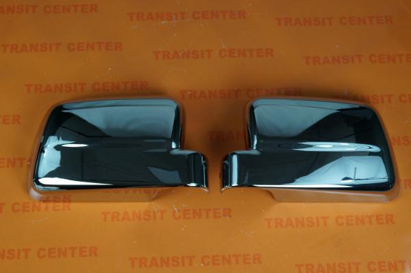 Chrome mirrors cover Ford Transit Connect 2009 Trateo new
