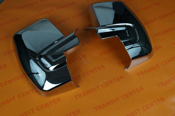 Chromed mirror housing Ford Transit Custom Trateo new