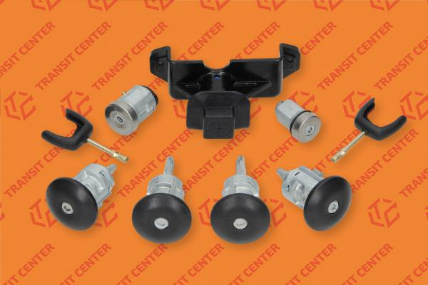 Locking cylinder set of Ford Transit 2006 Trateo new
