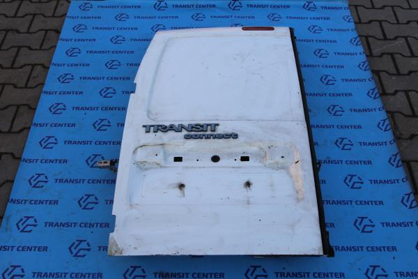 Rear door Ford Transit Connect 2006 low top, left white Used