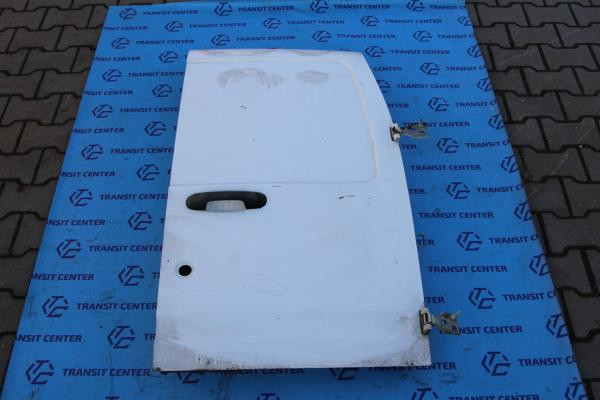 Rear door Ford Transit Connect 2002 low top, right white Used.