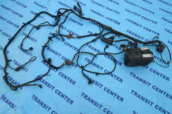 Wiring Loom Harness under bonnet Ford Transit Connect 2002, 1.8 TDDI 75 PS with ABS used