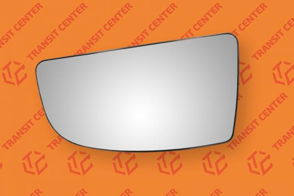 Mirror glass left Ford Transit 2014 lower spherical new