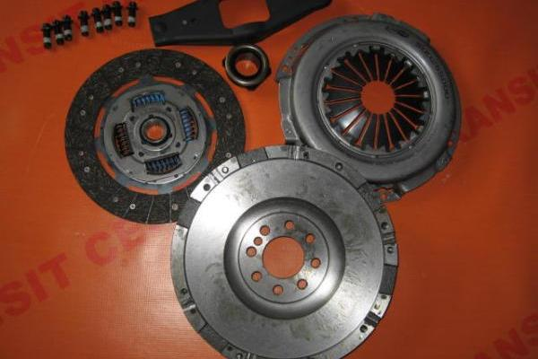 Clutch set with flywheel 2.4 alternative Ford Transit 2000-2006 new