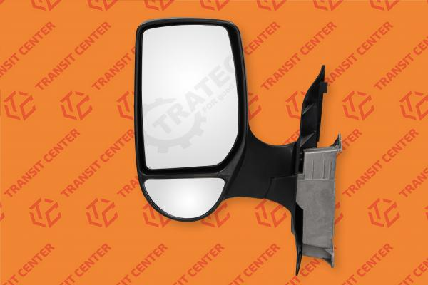 Left short arm manual mirror Ford Transit 2000-2013 new