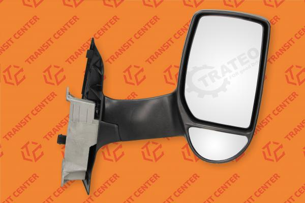 Right long arm electric mirror Ford Transit 2000-2013 new Trateo