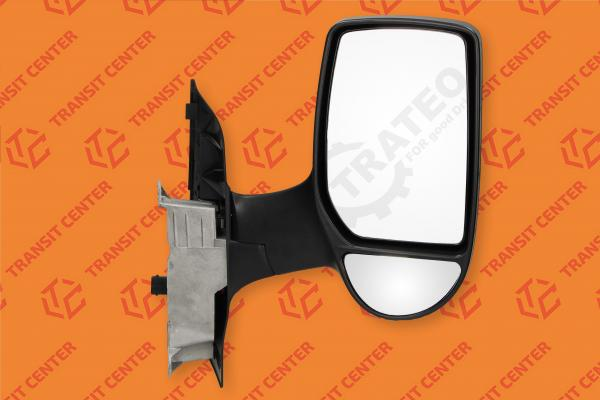 Right short arm electric mirror Ford Transit 2000-2013 new Trateo