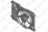 Radiator fan housing with fan Ford Transit Connect MK2 with air conditioning new