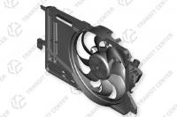 Radiator fan housing with fan Ford Transit Connect MK2 diesel DV61-8C607-AB new