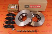 Brake discs and pads Ford Transit 2006 front 16 inch new