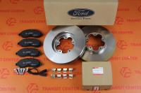 Brake pads and discs Ford Transit 2014 front FWD