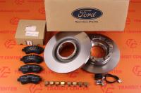 Brake pads and discs Ford Transit 2014 FWD rear new