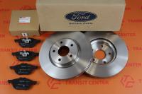 Brake discs and pads Ford Transit Connect 2013 front 16 new