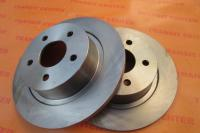 Brake disc Ford Transit Connect, rear new