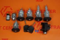 Locking cylinder set of Transit Connect MK1 Trateo new