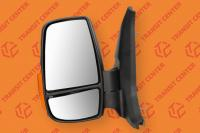 Left mirror Ford Transit 2014 short arm with orange indicator light  6 pin new