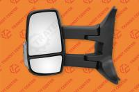 Mirror left long arm electric Ford Transit 2014 6 pin Trateo new
