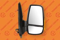 Right mirror Ford Transit 2014 short arm with orange indicator light  8 pin new