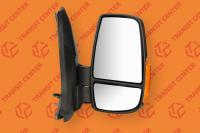 Right mirror Ford Transit 2014 short arm with orange indicator light  6 pin new
