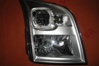 Headlight right manual Ford Transit 2006-2013 new