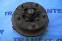 "Front right spindle with hub 14"" wheel transit 1991-2000 used"
