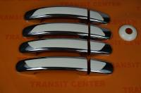Chromed door handles for Ford Transit 2014 Trateo