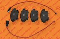 Rear brake pads Ford Transit 2006-2013 new